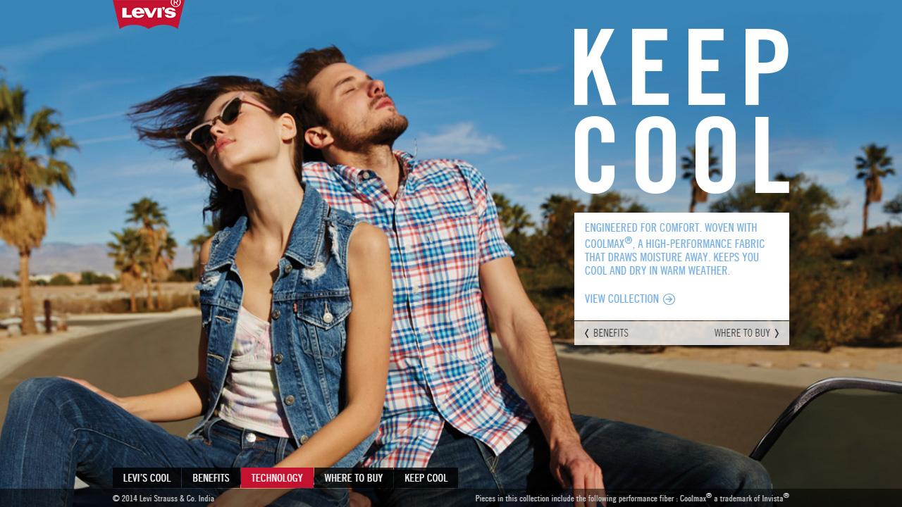 Levis Keep Cool