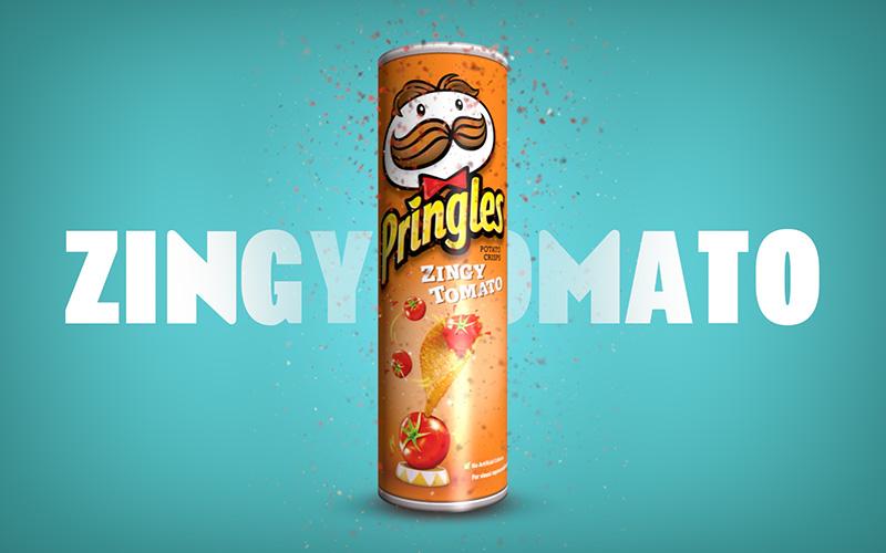 Pringles Zingy Tomato