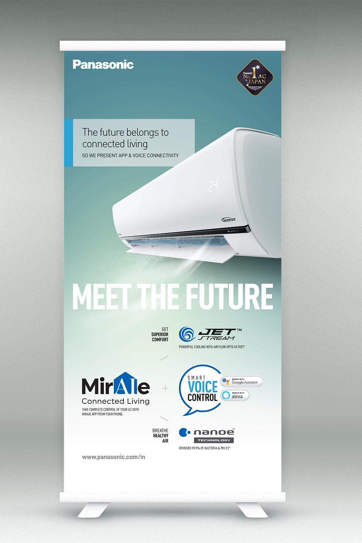Standee Panasonic Meet the Future